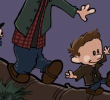 Sam, Dean, and Cas Sticker