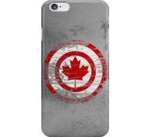 Captain Canada iPhone Case/Skin