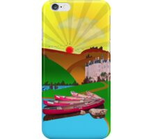 Phone case: Canoeing in the Ardennes iPhone Case/Skin
