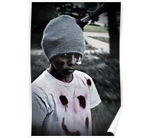 Zombie Kid Poster