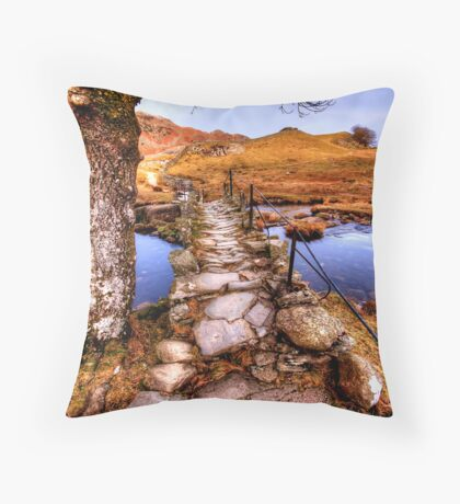 Slaters Bridge Throw Pillow