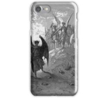 Satan cast out of Heaven iPhone Case/Skin