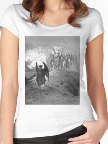 Satan cast out of Heaven Women's Fitted Scoop T-Shirt