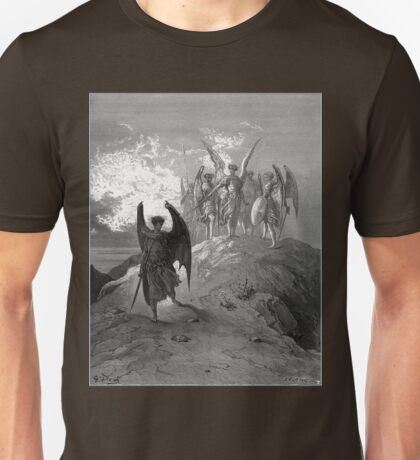 Satan cast out of Heaven Unisex T-Shirt