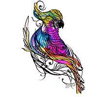 I am A Parrot Photographic Print