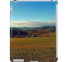 Panorama at indian summer | landscape photography iPad Case/Skin