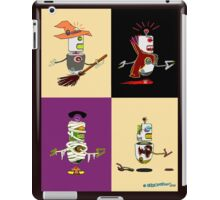 Robots Halloween iPad Case/Skin