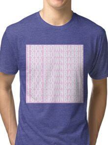 brown barbie Tri-blend T-Shirt