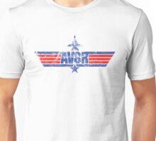 Custom Top Gun Style Style - AV8R Unisex T-Shirt