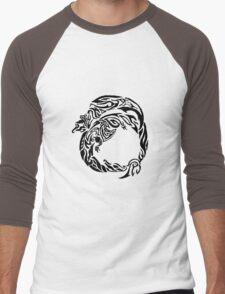 Charizard Tribal Men's Baseball ¾ T-Shirt