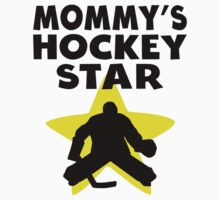 Mommy's Hockey Star Kids Clothes