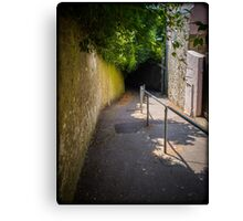 Shooters Lane Shaftesbury Canvas Print