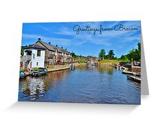 Brecon Postcard or Greeting Card Greeting Card