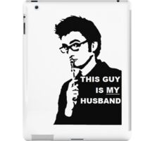 My Husband iPad Case/Skin