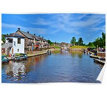 Brecon Canal Basin Poster