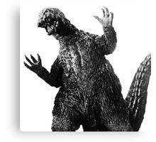 Sarcastic Godzilla Canvas Print