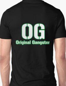 Original Gangster Text Unisex T-Shirt