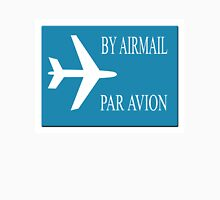 By Airmail sticker effect Womens Fitted T-Shirt