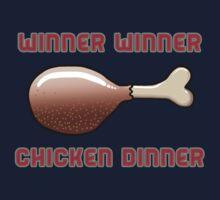 Winner Winner Chicken Dinner Kids Tee
