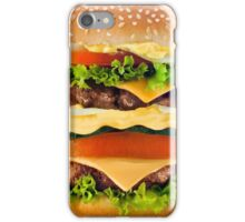 Hamburger iPhone Case/Skin