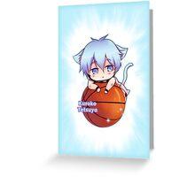 Kuroko Tetxuya Chibi Greeting Card