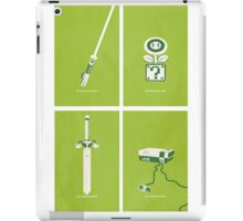 Nintendo Green Design iPad Case/Skin