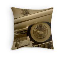 Cadillac Wheel  Throw Pillow