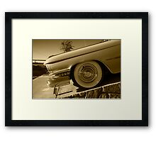 Cadillac Wheel  Framed Print