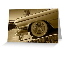 Cadillac Wheel  Greeting Card
