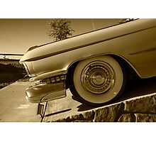 Cadillac Wheel  Photographic Print