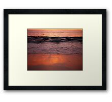 Sunset Cottesloe Beach Framed Print