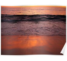 Sunset Cottesloe Beach Poster