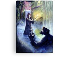 If you go out in the woods today.. Canvas Print