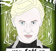 HARRY POTTER's Draco Malfoy by raeuberstochter