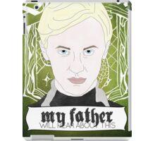 HARRY POTTER's Draco Malfoy iPad Case/Skin