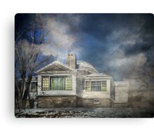 Loomis Sanitarium Library Canvas Print