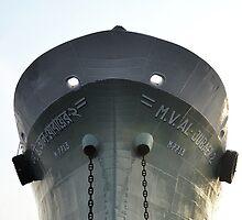 Anchored Vessel by Ikramul Fasih