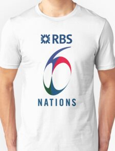 RBS 6 Nations Unisex T-Shirt