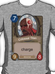 Attack on Titan Hearthstone T-Shirt