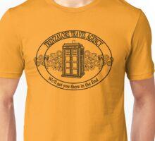 Trenzalore Travel Agency - black Unisex T-Shirt