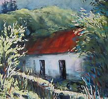 Glen Inchiquin cottage by Roman Burgan
