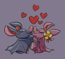 Bats in Love Kids Clothes