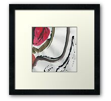Music Pattern Framed Print