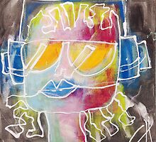 Music in my head by Chantal Guyot