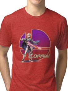 Male Corrin, Smash Bros. 4 Tri-blend T-Shirt