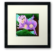 Hello Chesh! Framed Print