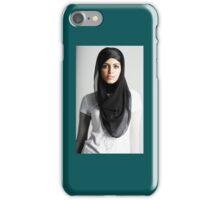 Femme en voile. iPhone Case/Skin