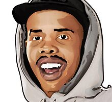 Earl Sweatshirt Illustration - Original Print - BenmcArts by Ben McCarthy