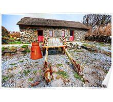 Dingle Famine Cottage Poster