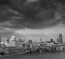 Storm Clouds over London by AndyHuntley